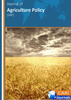 Journal of Agriculture Policy